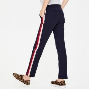 boden womens 16r bristol side stripe ⅞ trouser pan